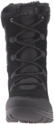 Kamik Women's Boston2 Snow Boot, Black, 9 UK
