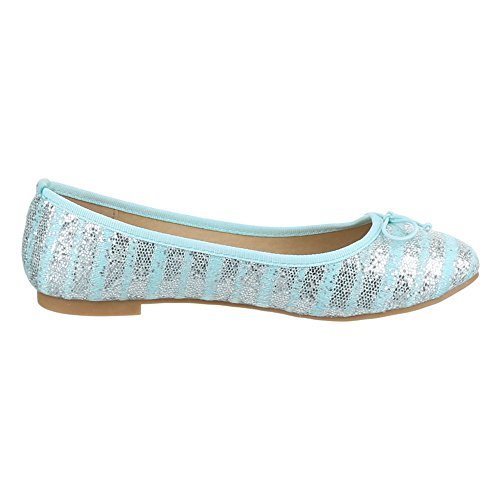 Ital-Design - Bailarinas Mujer Azul - azul claro