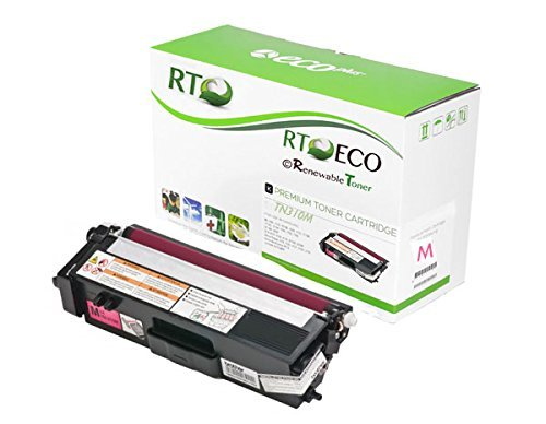 Renewable Toner © TN310 | TN-310 (Compatible with Brother TN-310M/ TN310m) Compatible Magenta Laser Toner Cartridge for Brother HL-4150CN, MFC-9460CN, MFC-9970CDW
