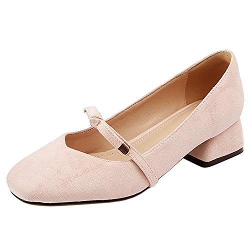 Shoes Janes Nude Mary Lydee Basso rosa Dolce Pumps Donne Tacco Ia7IXxA