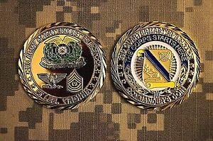 Navy Challenge Coin United States Army 23d Quartermaster Brigade Ft Lee Virginia from TM