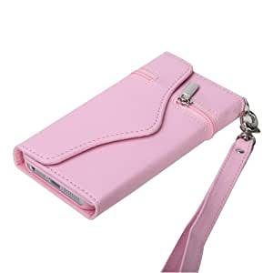 MYBAT Pink Premium MyJacket Wallet (330) ( with Package ) for APPLE iPhone 5