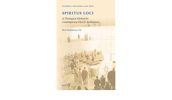Amazon com: Spiritus Loci: A Theological Method for