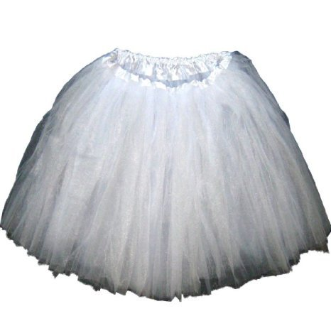6ee64300f Amazon.com: Adult Tutu Assorted Colors (White): Clothing