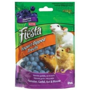 Kaytee Fiesta Yogurt Dip Hamster/Gerbil Blueberry 3.5oz (Yogurt Treats Dips)