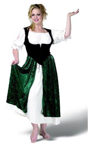 Esmeralda Village Wench Adult Costume Size