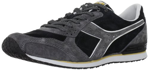Diadora Man Sneaker Shoes Black and Grey Code CRYPTON S FW12 157259 01 C0732 black
