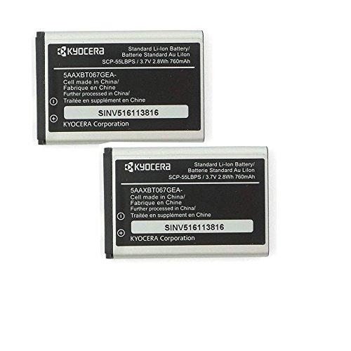Kyocera Battery SCP-55LBPS (2-PC) 760mAh 3.7V for Kyocera JAX S1360