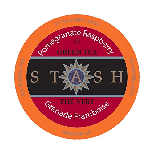 (Stash Tea Pomegranate Raspberry Single-Cup Tea for Keurig K-Cup Brewers, 24 Count)