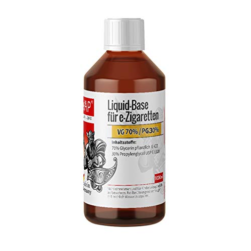 CiVAP Liquid Base 70 VG 30 PG 1000ml ohne Nikotin