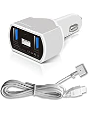 GISSARAL 110W Chargeur de Voyage Voiture Portable pour MacBook Pro MacBook Air et MacBook Apple ou Android Smartphones et tablettes