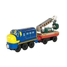 Chuggington Wooden Railway Chuggineer Brewster Baby Toy