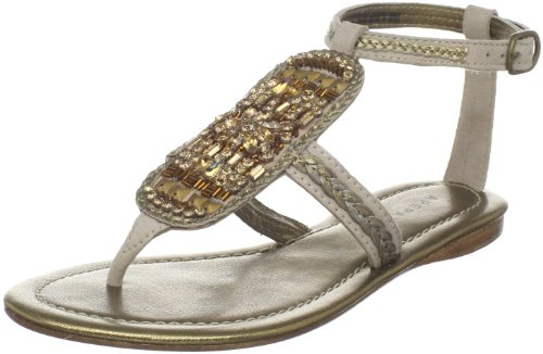 arie Sandal,Sand,38.5 EU/8.5 M US (Apepazza Leather Sandals)