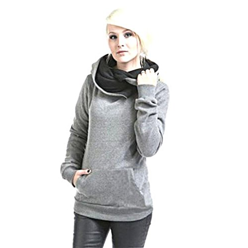 YANG-YI-Women-Long-Sleeve-Hoodie-Sweatshirt-Sweater-Hooded-Cotton-Coat-Pullover-Blouse