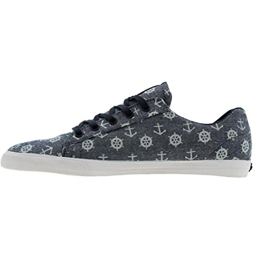SUPRA Assault Chambray-Nautical Print Azul - azul