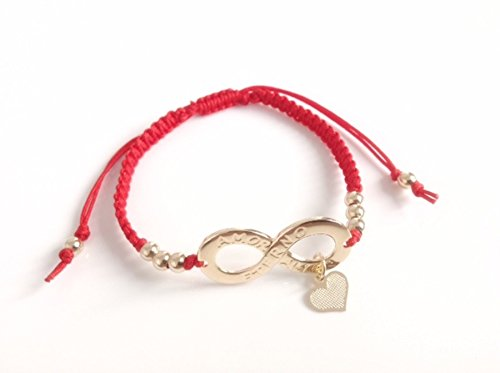 Infinity-Bracelet-Red-Sting-adjustable-Valentines-day-gift-Pulsera-roja-Amor-Eterno