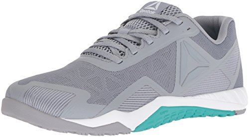 Reebok Women's ROS Workout TR 2.0 Sneaker, Cool Shadow/Solid Teal/White, 6.5 M US