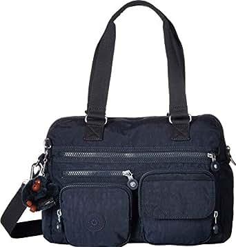 Kipling Mara Satchel, Removable, Adjustable Crossbody Strap, Zip Closure, True Blue