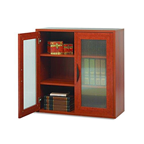 Safco Products 9442CY Apres Modular Storage Cabinet, 2 Door, Cherry - 2 Door Cherry Desk