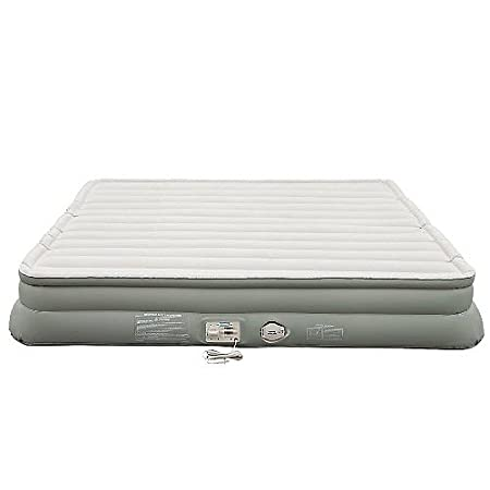 Aerobed King Airbed Air Mattress Double High 14 Builtin Electric