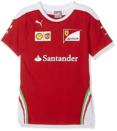 FERRARI F1 Kinder Kids Team Tee 2016 T-Shirt, Rot, 176