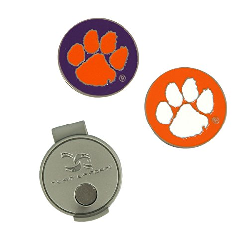 Team Effort Clemson Tigers Hat Clip &
