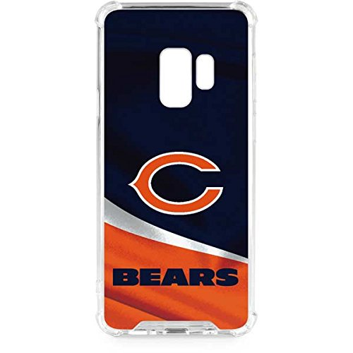Skinit Chicago Bears Galaxy S9 Clear Case - NFL - Skinit Clear Case - Transparent Galaxy S9 Cover