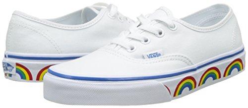 Scarpe Basse Bianco Ginnastica Da Donna rainbow Vans Tape Ua Authentic P7vqUaU