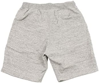 SWEAT GYM SHORT 12oz LT WEIGHT FRENCH TERRY - HEATHER GREY