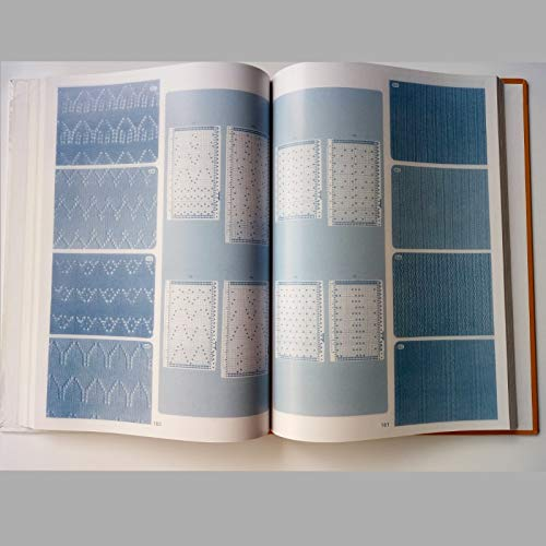 ShineBear Brother Knitting Machine DIY Sweater Volume Punchcard Pattern Book 319pages by ShineBear (Image #2)