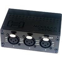 Hosa MXL-369 Patch Bay Module, 3-point, XLR3F to XLR3M
