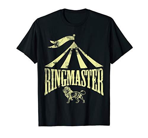 Ringmaster Shirt Circus Costume Men Women Kids T-shirt