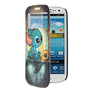 LIMME ships in 48 hours Cartoon Turtle Pattern Full Body Case with Window for Samsung S3