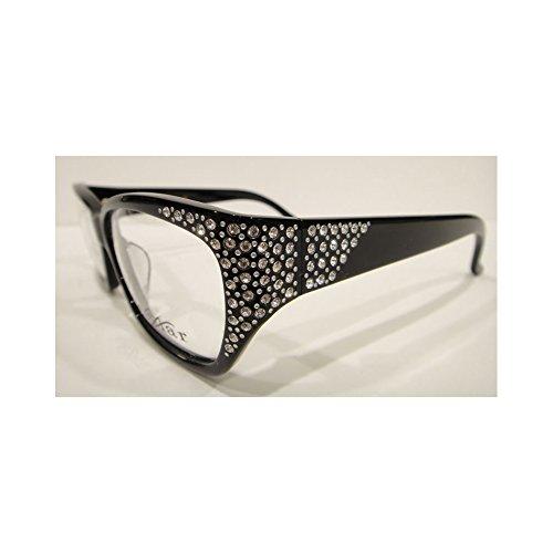 Frames Crystal Eyeglass - Caviar 6172 Eyeglasses Frames Black (C24) Crystal Stones New