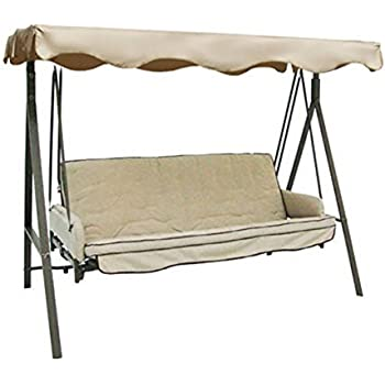 Replacement Canopy For Garden Treasures 3 Person Swing Riplock 350 Patio Lawn