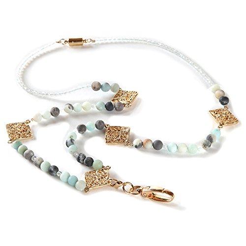 (BooJee Beads Beaded ID Convertible Lanyard Celadon)