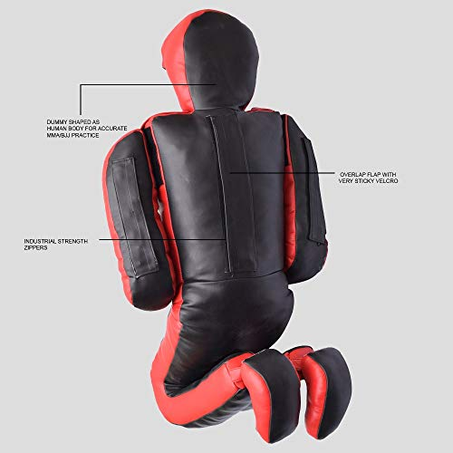 Jayefo VEGELEATHER Daredevil Dummy 6FT (Black/RED) by Jayefo (Image #2)