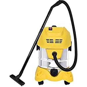 Cleanex 20 Litre (22 KPA-26000 RPM) Stainless Steel Wet & Dry Vacuum Cleaner with Blower/3in1 Vacuum Cleaner with HEPA…