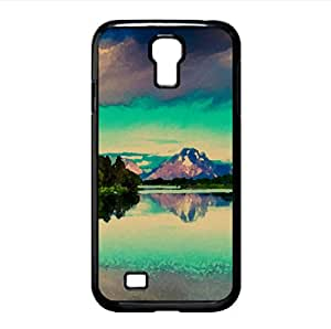 Beautiful Summer Landscape Watercolor style Cover Samsung Galaxy S4 I9500 Case (Summer Watercolor style Cover Samsung Galaxy S4 I9500 Case)