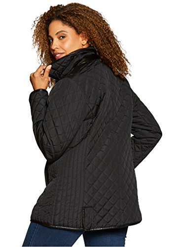 Quilted Snap Front Jacket - 4