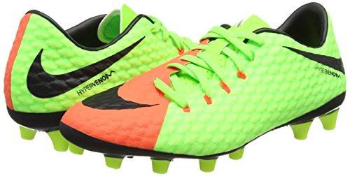volt hyper Nike Pour Ag lectrique Phelon Homme pro Chaussure orange De Vert Hypervenom vert Football Iii Noir 6qAaEAw