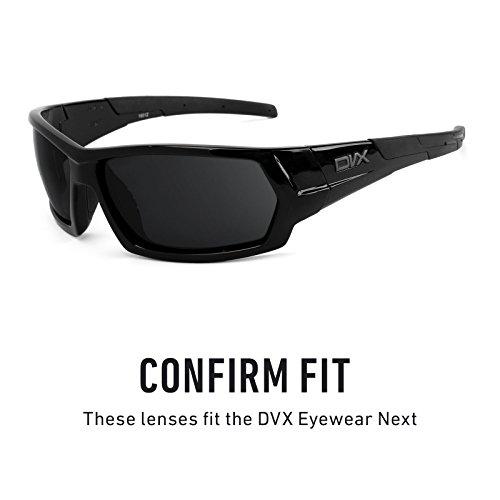 — de múltiples DVX repuesto Elite Next Eyewear Polarizados Opciones Lentes Marrón para Oscuro YdUwxq