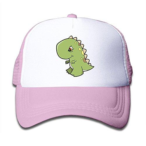 Dinosaur Prank Costume For Sale (Joijiouio Tea-Rex Funny Dinosaur Kids Sun Protection UnisexMesh Trucker Cap Pink)