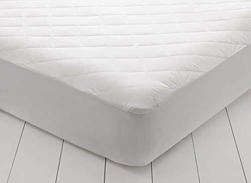 East Coast Bedding Overfilled Quilted Hypoallergenic Ultra Soft Cotton Mattress Pad Cover - Antibacterial - Breathable, 10 Year Warranty (Full XL)