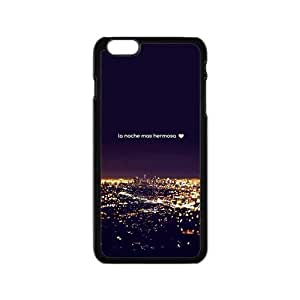 glam city night personalized high quality cell phone case for Iphone 6 wangjiang maoyi