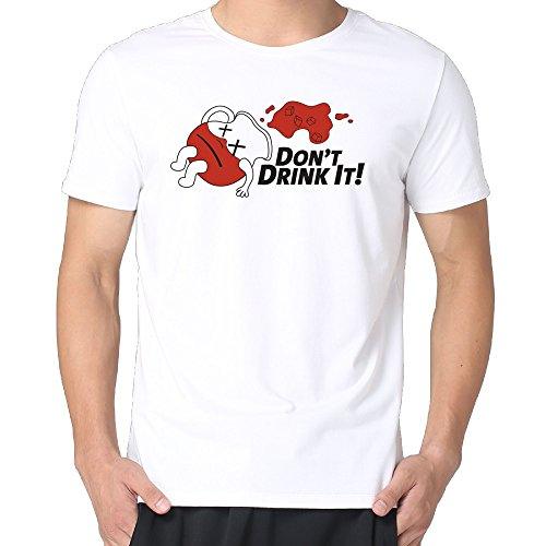 Don't Drink The Kool Aid Men Cotton Short Sleeve Personalized Tshirts