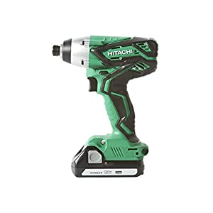 Hitachi KC18DG4L 18V Cordless 4 Piece Combo Kit, Hammer Drill, Impact Driver, Recip Saw, Flashlight, 2 Compact 3.0 Ah Lithium Ion Batteries, Lifetime Tool Warranty