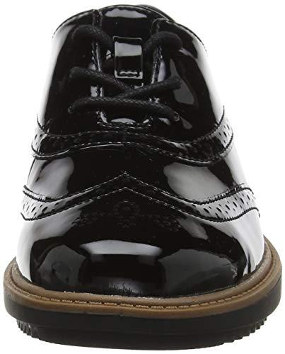 Negro Pat Brogue Cordones Clarks Raisie para de Hilde Mujer Black Zapatos Xwxx8qUv