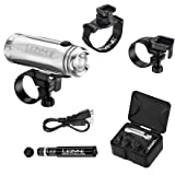 Cheap Lezyne Power Drive Xl LED Front Light with Accessory (Silver)