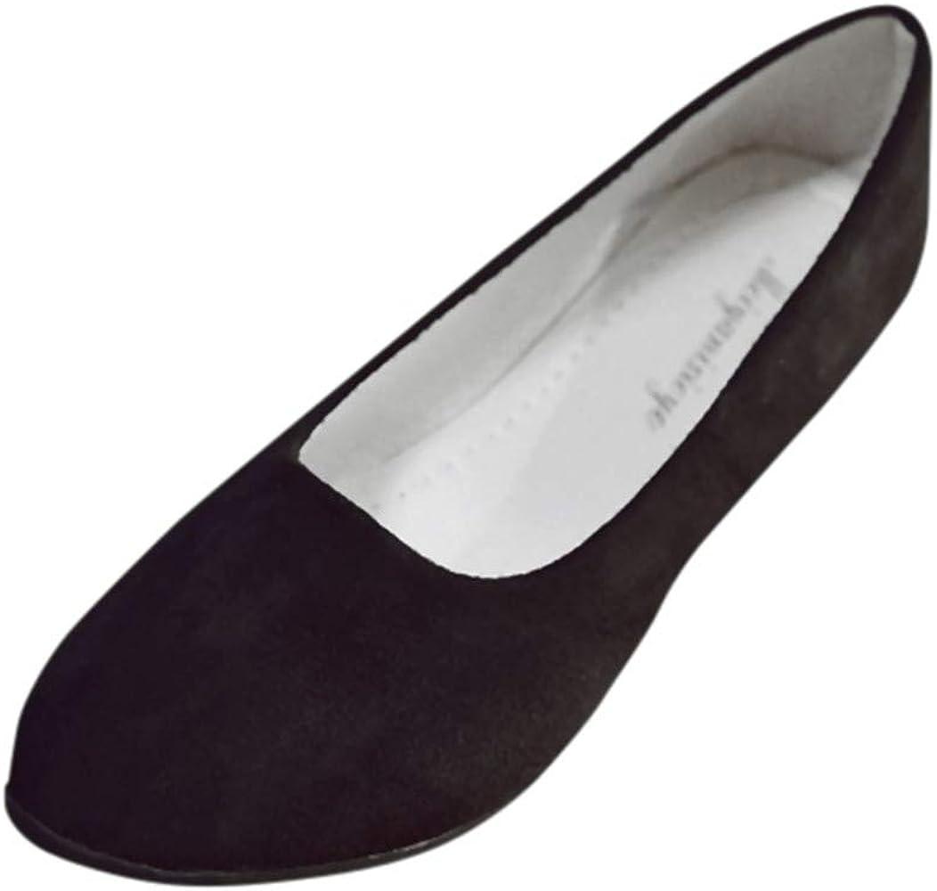 31d8917f93f Amlaiworld Zapatos Planos Mujer Alpargatas Bailarinas Zapatillas sin Cordones  para Mujer Zapatos Casuales Mocasines Zapatillas Zapatos de Cordones Calzado